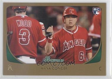 2011 Bowman Gold #219 - Hank Conger
