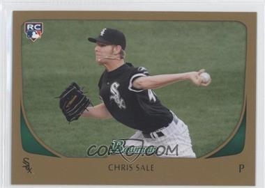 2011 Bowman Gold #220 - Chris Sale