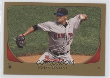 2011 Bowman Gold #36 - Johan Santana