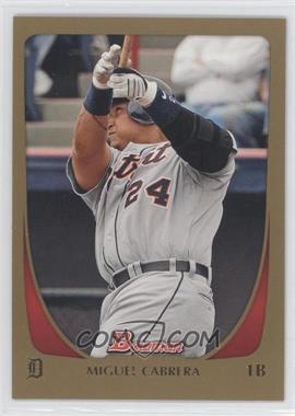 2011 Bowman Gold #47 - Miguel Cabrera
