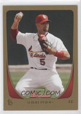 2011 Bowman Gold #6 - Albert Pujols