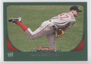 2011 Bowman Green #179 - Stephen Strasburg /450