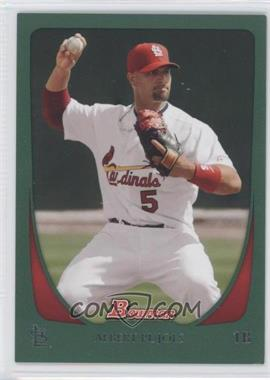 2011 Bowman Green #6 - Albert Pujols /450