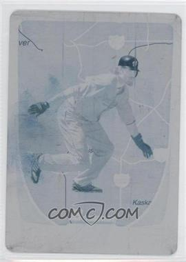 2011 Bowman International Printing Plate Cyan #121 - Jayson Werth /1