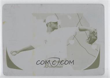 2011 Bowman International Printing Plate Yellow #146 - Wade Davis /1
