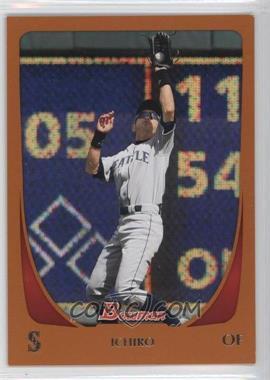 2011 Bowman Orange #153 - Ichiro Suzuki /250