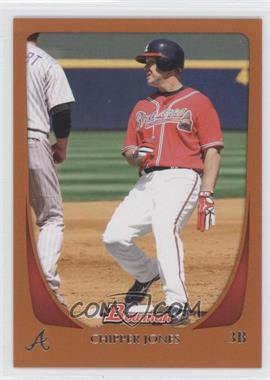 2011 Bowman Orange #17 - Chipper Jones /250