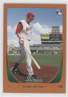 2011 Bowman Orange #193 - Mark Trumbo /250
