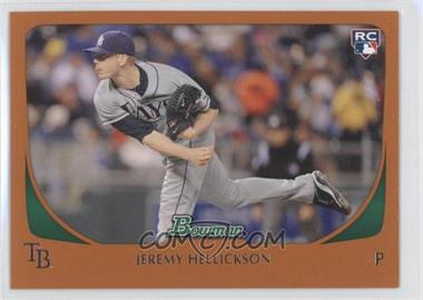 2011 Bowman Orange #199 - Jeremy Hellickson /250