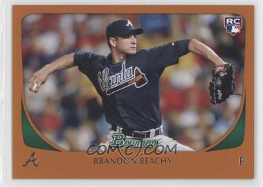 2011 Bowman Orange #204 - Brandon Beachy /250