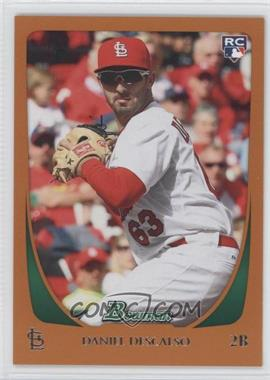 2011 Bowman Orange #215 - Daniel Descalso /250