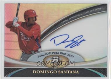 2011 Bowman Platinum - Prospect Autographs #BPA-DS - Domingo Santana