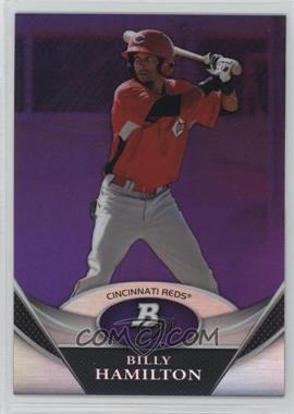 2011 Bowman Platinum - Prospects - Retail Purple Refractor #BPP38 - Billy Hamilton