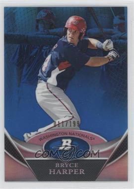 2011 Bowman Platinum - Prospects Refractor - Blue #BPP1 - Bryce Harper /199