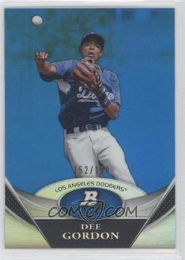 2011 Bowman Platinum - Prospects Refractor - Blue #BPP2 - Dee Gordon /199
