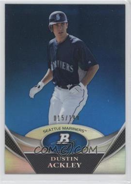 2011 Bowman Platinum - Prospects Refractor - Blue #BPP32 - Dustin Ackley /199