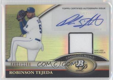 2011 Bowman Platinum Autographed Relic [Autographed] #BAR-RT - Robinson Tejeda /1166