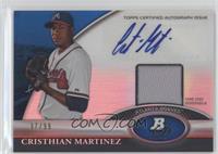 Cristhian Martinez /99