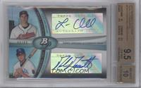 Lonnie Chisenhall, Mike Moustakas /89 [BGS 9.5]