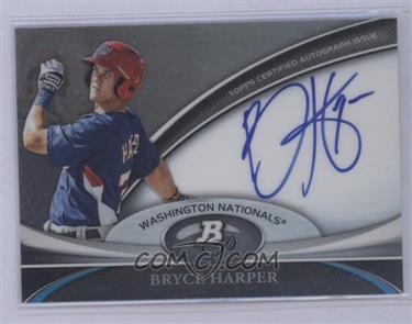 2011 Bowman Platinum Prospect Autographs [Autographed] #BPA-BH - Bryce Harper [Mint]