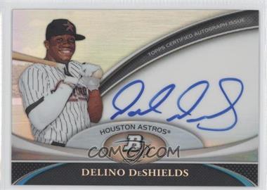 2011 Bowman Platinum Prospect Autographs [Autographed] #BPA-DD - Delino DeShields Jr.