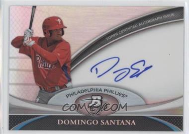 2011 Bowman Platinum Prospect Autographs [Autographed] #BPA-DS - Domingo Santana