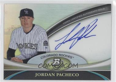 2011 Bowman Platinum Prospect Autographs [Autographed] #BPA-JPA - Jordan Pacheco