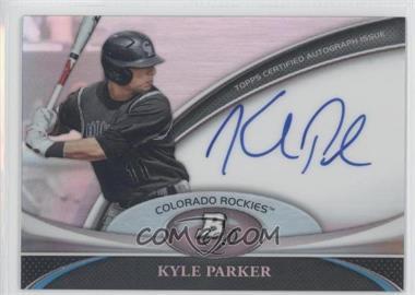2011 Bowman Platinum Prospect Autographs [Autographed] #BPA-KP - Kyle Parker