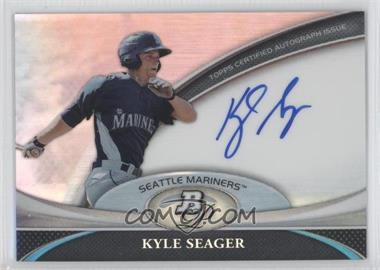 2011 Bowman Platinum Prospect Autographs [Autographed] #BPA-KS - Kyle Seager