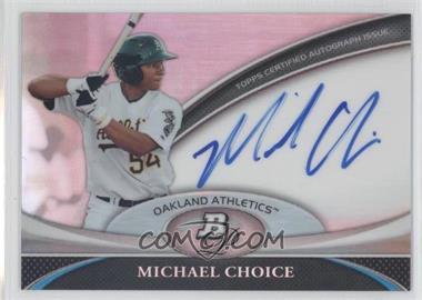 2011 Bowman Platinum Prospect Autographs [Autographed] #BPA-MC - Michael Choice