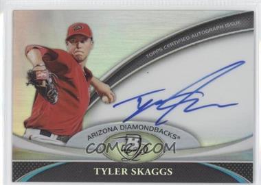 2011 Bowman Platinum Prospect Autographs [Autographed] #BPA-TS - Tyler Skaggs