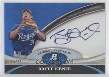 2011 Bowman Platinum Prospect Autographs Blue Refractor [Autographed] #BPA-BE - Brett Eibner /99