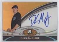 Deck McGuire /50