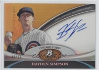 Hayden Simpson /50