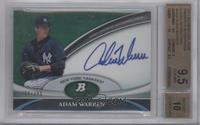 Adam Warren /399 [BGS 9.5]