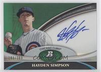 Hayden Simpson /399