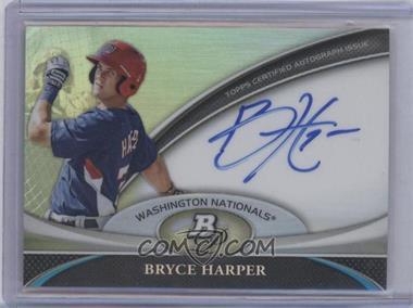 2011 Bowman Platinum Prospect Autographs #BPA-BH - Bryce Harper
