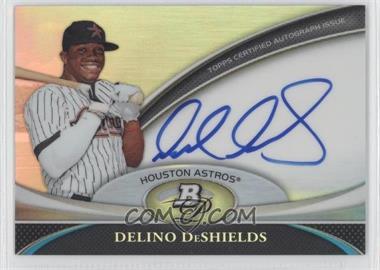 2011 Bowman Platinum Prospect Autographs #BPA-DD - Delino DeShields Jr.