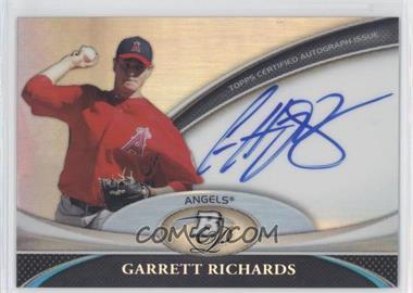 2011 Bowman Platinum Prospect Autographs #BPA-GR - Garrett Richards