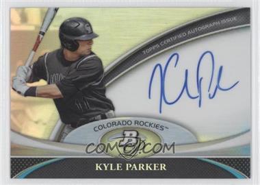 2011 Bowman Platinum Prospect Autographs #BPA-KP - Kyle Parker