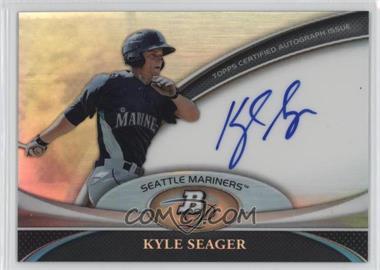 2011 Bowman Platinum Prospect Autographs #BPA-KS - Kyle Seager