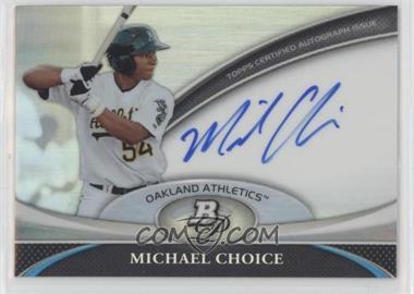 2011 Bowman Platinum Prospect Autographs #BPA-MC - Michael Choice