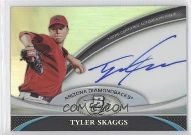 2011 Bowman Platinum Prospect Autographs #BPA-TS - Tyler Skaggs
