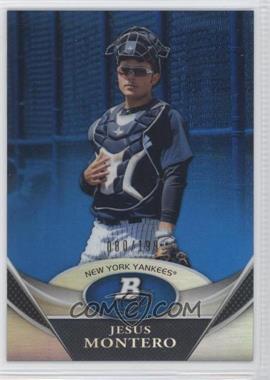 2011 Bowman Platinum Prospects Blue Refractor #BPP3 - Jesus Montero /199