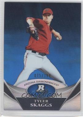 2011 Bowman Platinum Prospects Blue Refractor #BPP30 - Tyler Skaggs /199
