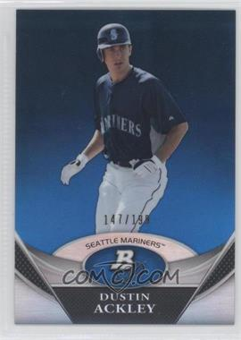 2011 Bowman Platinum Prospects Blue Refractor #BPP32 - Dustin Ackley /199