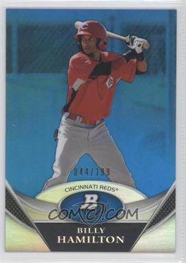 2011 Bowman Platinum Prospects Blue Refractor #BPP38 - Billy Hamilton /199