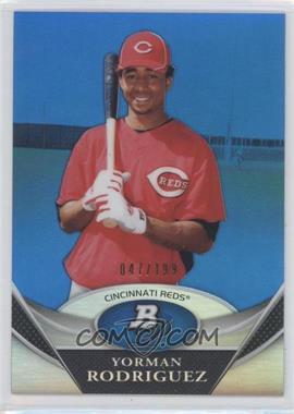 2011 Bowman Platinum Prospects Blue Refractor #BPP39 - Yorman Rodriguez /199