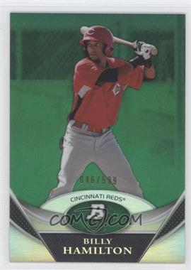 2011 Bowman Platinum Prospects Green Refractor #BPP38 - Billy Hamilton /599