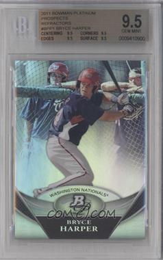 2011 Bowman Platinum Prospects Refractor #BPP1 - Bryce Harper [BGS9.5]